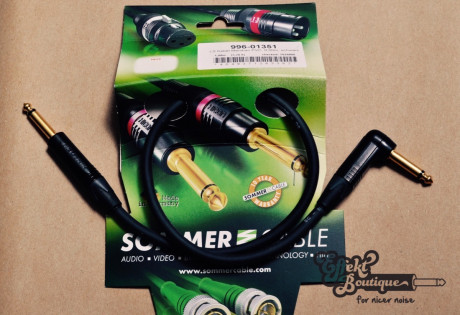 Sommercable - Boxenkabel 50 cm mono