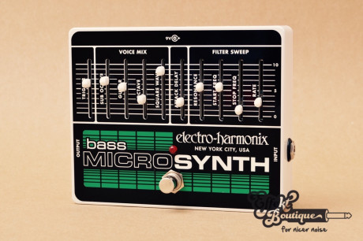 Electro Harmonix - Bass MicroSynth Analog Microsynth