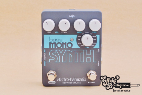 Electro Harmonix - Bass Mono Synth Bass Synthesizer