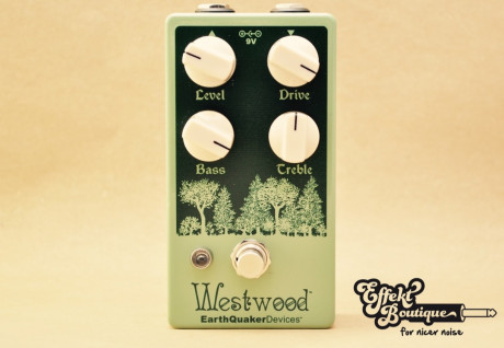 EarthQuaker Devices - Westwood Translucent Drive Manipulator Overdrive