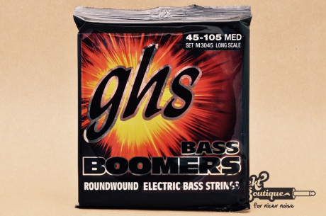 GHS 4-STRING BASS BOOMERS M3045 medium 045-105