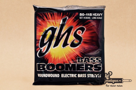 GHS 4-STRING BASS BOOMERS H3045 Heavy 050-115
