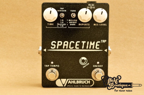 Vahlbruch - SpaceTime Delay/Echo Pedal Tap Tempo