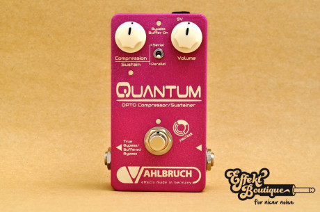 Vahlbruch - Quantum Opto Compressor/Sustainer Pedal + Buffer