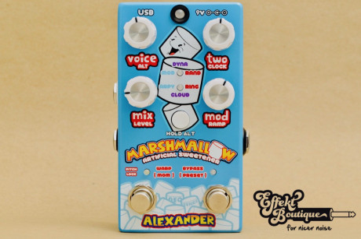 Alexander Pedals - Marshmallow