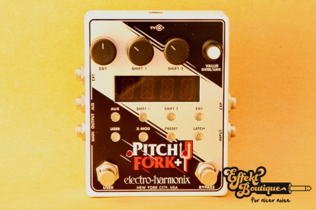 Electro Harmonix Pitch Fork + plus Polyphonic Pitch Shifter/Harmony Pedal