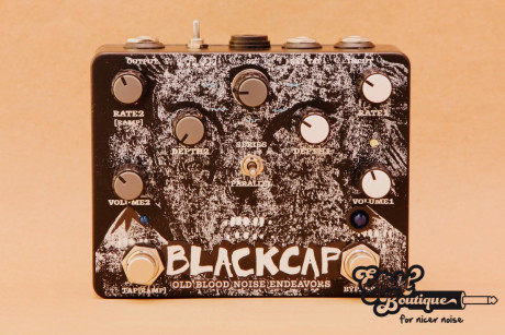 Old Blood Noise Endeavours - Blackcap Asynchronous Dual Tremolo