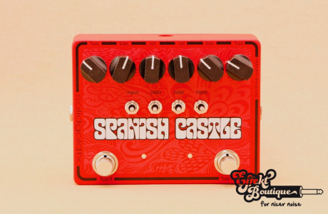 Solid Gold Fx - SPANISH CASTLE - DUAL FUZZ
