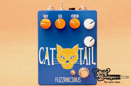 Fuzzrocious Pedals - Cat Tail