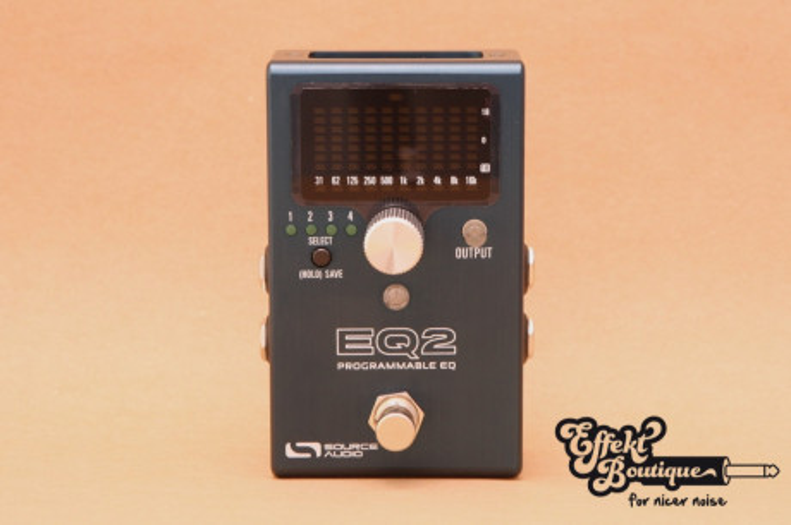 Source Audio - EQ2 Programmable Equalizer SA 270 OS EQ2