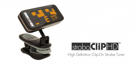 Peterson Tuners - StroboClip HD Tuner