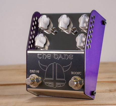 """Thorpy FX - THE DANE Overdrive and Booster, Peter """"Danish Pete"""" Honore's Signature pedal"""