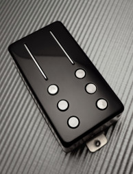 Railhammer - HYPER VINTAGE - Neck pickup black Humbucker