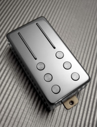 Railhammer - HYPER VINTAGE - Neck pickup CHROME Humbucker