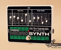 Electro Harmonix - Bass MicroSynth Analog Microsynth