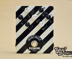 Pushking Pedals - IRONFINGER DISTORTION