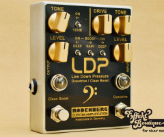 RODENBERG - LOW DOWN PRESSURE LDP (OD/CB) Bass Clean Boost /Overdrive