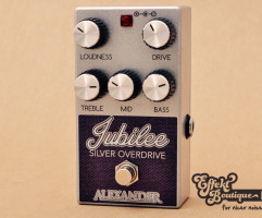 Alexander Pedals - Jubilee Silver Overdrive