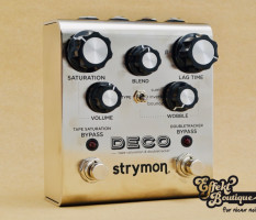 Strymon Deco - Tape Saturation and Doubletracker pedal