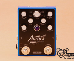Spaceman Effects - Aurora Flanger blue