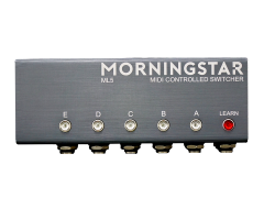 Morningstar THE ML5 TRUE BYPASS MIDI-CONTROLLED LOOP SWITCHER