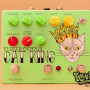 Fuzzrocious Pedals - Cat King 2nd Dist and momentary Feedback Mod Clean Blend