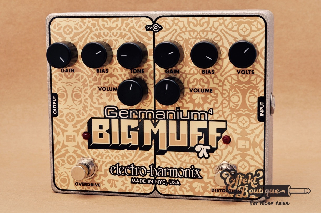 Electro Harmonix Germanium 4 Big Muff Pi Distortion Overdrive Effect