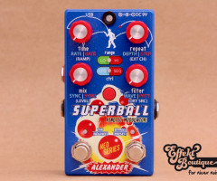 Alexander Pedals - Superball - Modulated Delay
