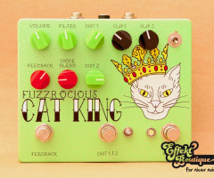 Fuzzrocious Pedals - Cat King 2nd Dist and momentary Feedback Mod