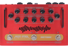 Hotone - Mojo Attack Portable Dual Channel Floor Amplifier